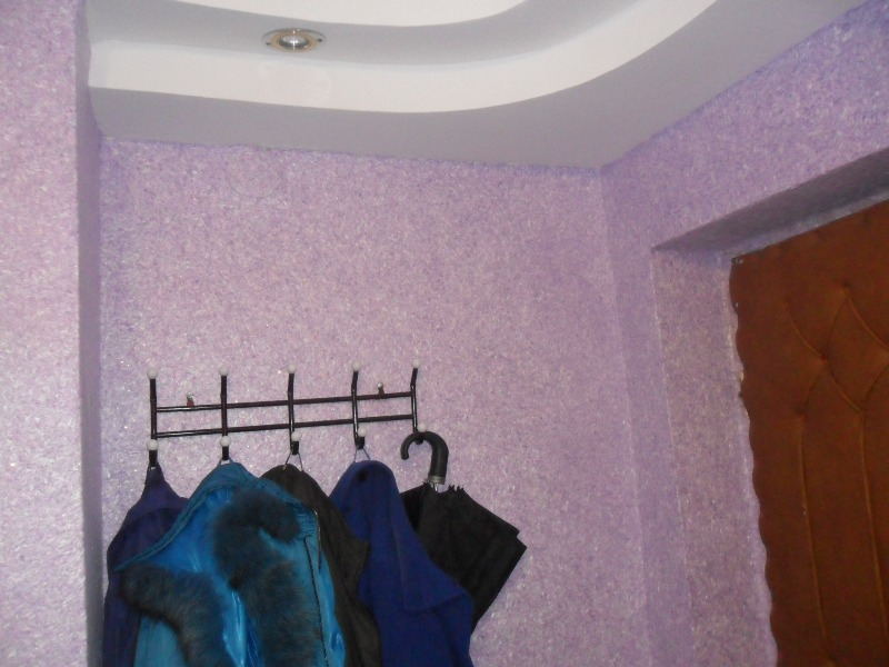 Стены пластиковыми панелями в ванной