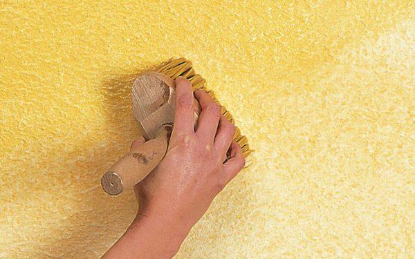 Нанесение декоративной штукатурка своими руками
